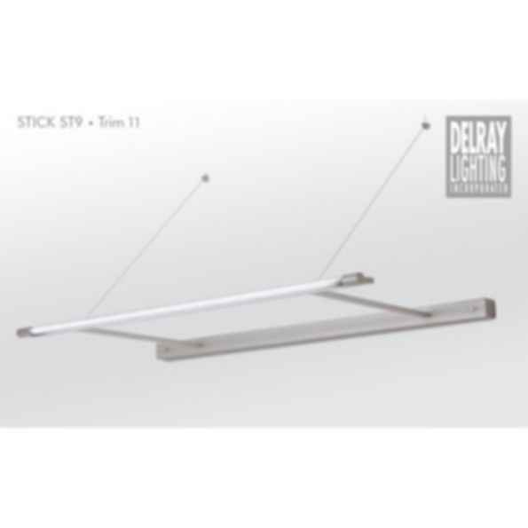 Stick ST9 Cantilever, Trim 11, by Delray Lighting