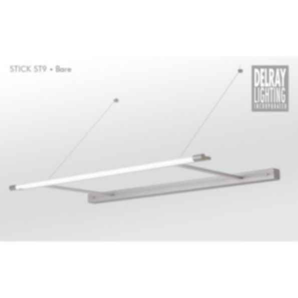 Stick ST9 Cantilever, Bare, by Delray Lighting