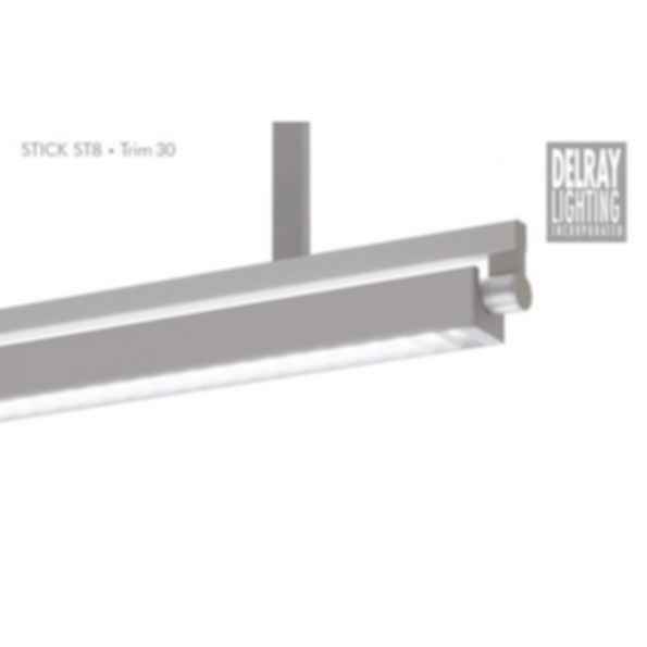 Stick ST8 Stem Mount, Trim 30, by Delray Lighting