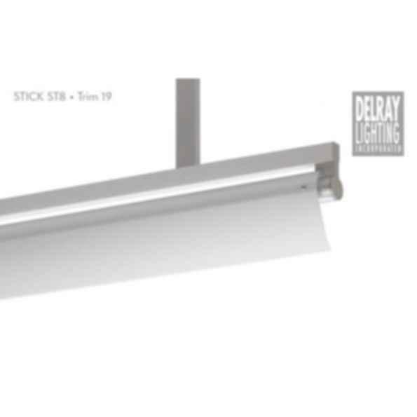 Stick ST8 Stem Mount, Trim 19, by Delray Lighting