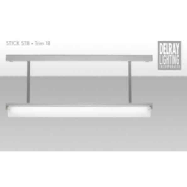 Stick ST8 Stem Mount, Trim 18, by Delray Lighting