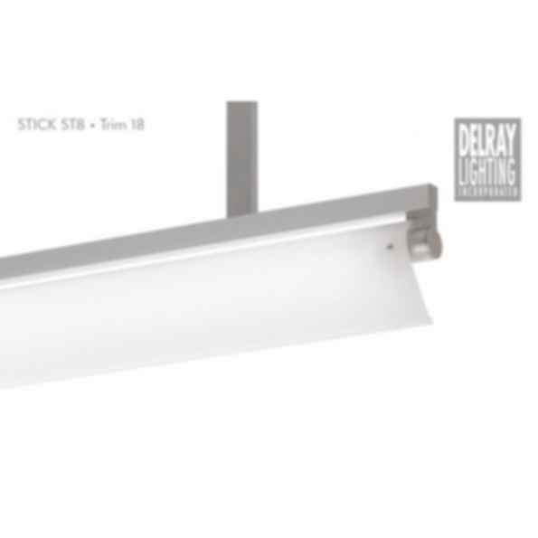 Stick ST8 Stem Mount, Trim 18, by Delray Lighting