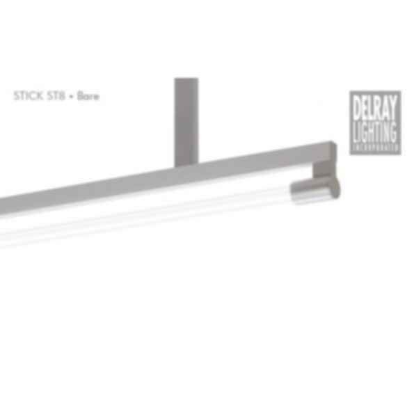 Stick ST8 Stem Mount, Bare, by Delray Lighting