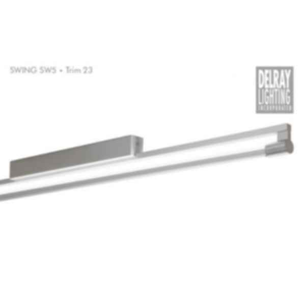 Swing SW5 Surface Mount, Trim 23, by Delray Lighting