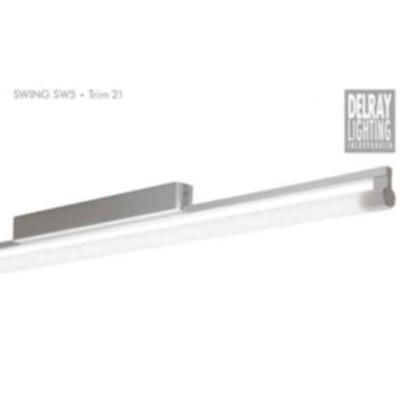 Swing SW5 Surface Mount, Trim 21, by Delray Lighting