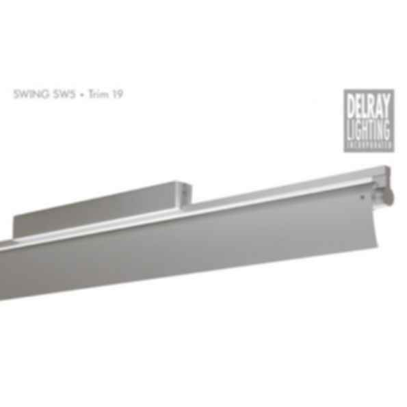 Swing SW5 Surface Mount, Trim 19, by Delray Lighting