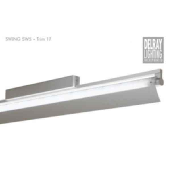 Swing SW5 Surface Mount, Trim 17, by Delray Lighting