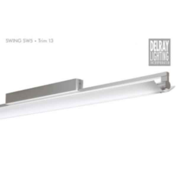 Swing SW5 Surface Mount, Trim 13, by Delray Lighting