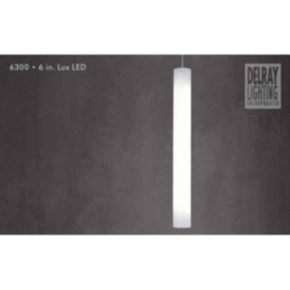 6300 6-In. LED Lux by Delray Lighting
