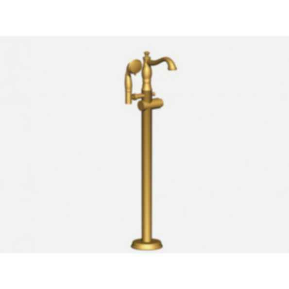 CASSIDY Floor mount Roman Tub with Hand shower Champagne Bronze