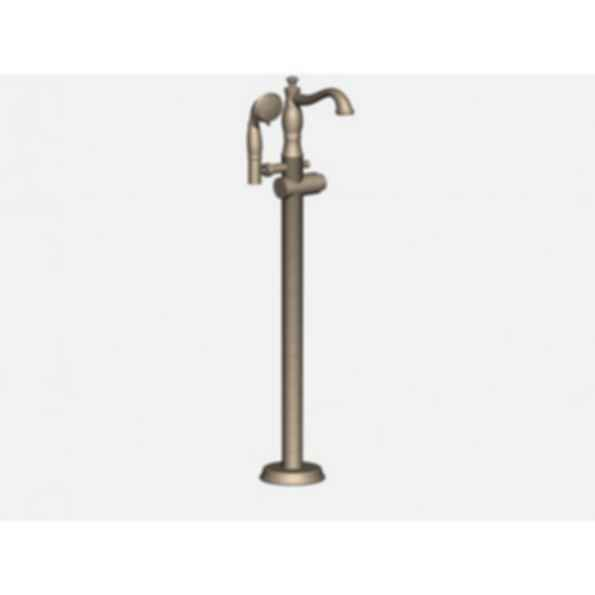 CASSIDY Floor mount Roman Tub with Hand shower Brilliance® Polished Nickel