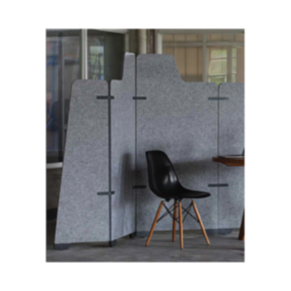 Screen | EchoPanel Wrap C Flat Tall Non-Fabric library