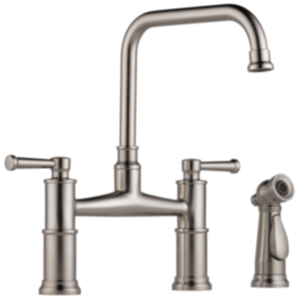 Artesso® Bridge Faucet with Side Sprayer 62525LF