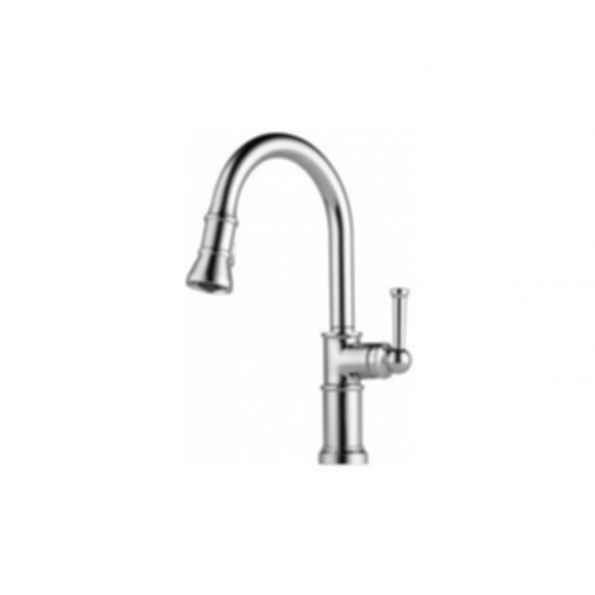 Artesso Single Handle Pull-down Kitchen Faucet Chrome
