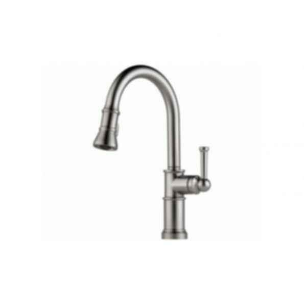Brizo Single Handle Dual Spray Pull Down Kitchen Faucet