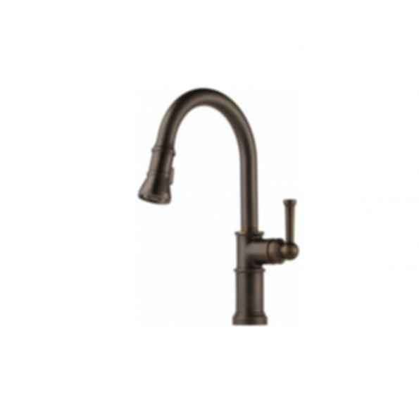 Artesso Single Handle Pull-down Kitchen Faucet Bronze