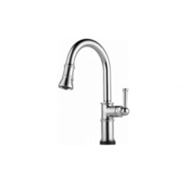 Artesso Single Handle Pull-down Kitchen Faucet w SmartTouch Chrome