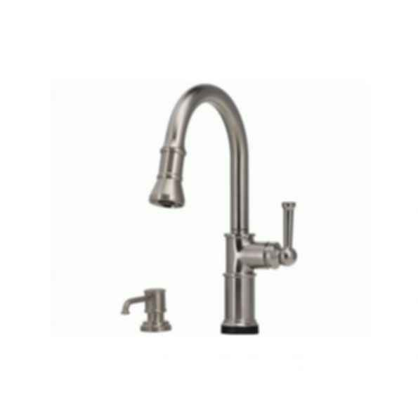 Artesso Single Handle Pull-down Kitchen Faucet w SmartTouch Stainless