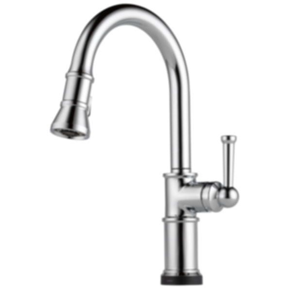 Artesso® Single Handle Pull-Down Kitchen Faucet with Smart Touch Technology 64025LF