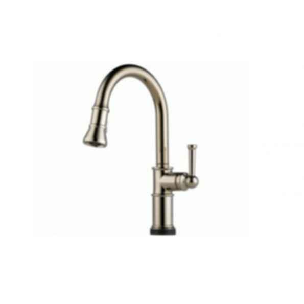 Artesso Single Handle Pull-down Kitchen Faucet w SmartTouch Polished Nickel