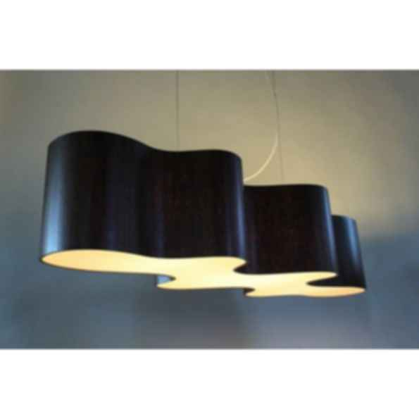 Indirect light pendant lamp cloud mesa