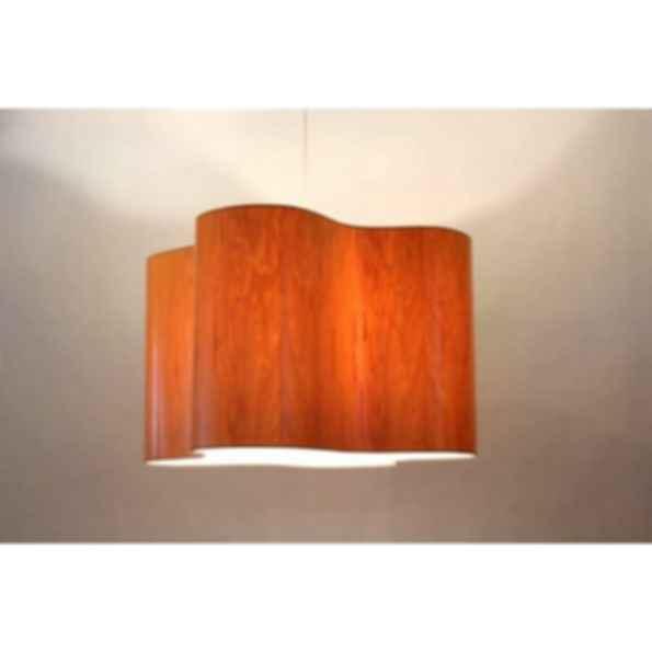 Indirect light pendant lamp clover