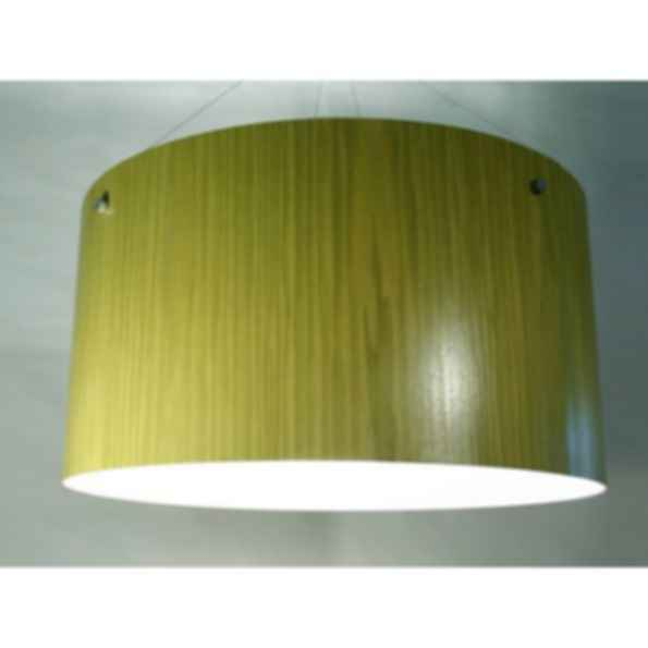 Indirect light pendant lamp satellite