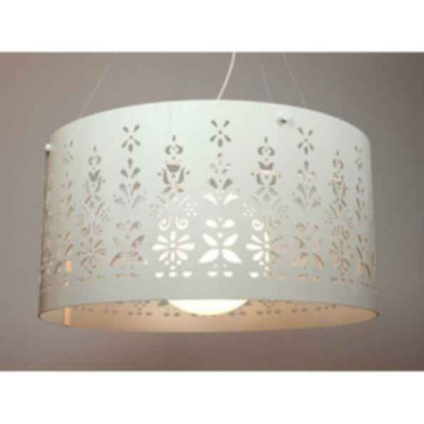 Pendant lamp lace satellite