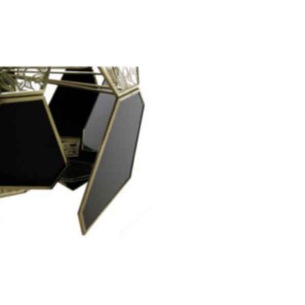 Hypnotic Brass Pendant Lamp