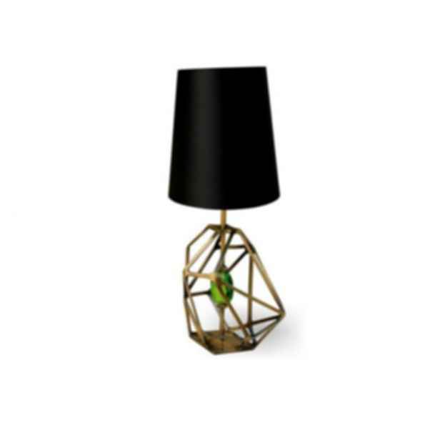 Metal table lamp GEM