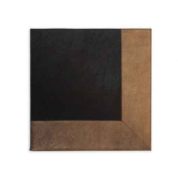 Rectangular Cow hide rug METALLIC BRONZE