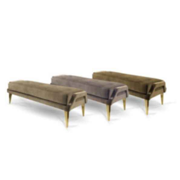 Ignite Upholstered Fabric Bench