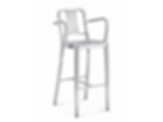 1006 Navy Collection Barstool with Arms