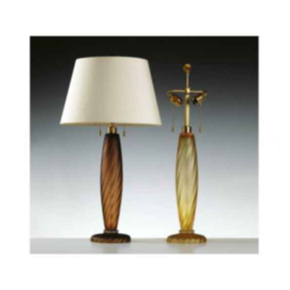 Murano glass table lamp ONDOSO