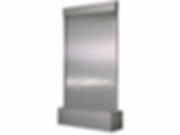 Water Feature - Stainless Steel with Stainless Steel Sheet