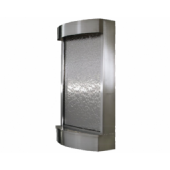 Water Feature - Wall Radius with Stainless Steel Face