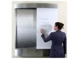 Water Feature - Stainless Steel with Stainless Steel Sheet and Whiteboard Insert
