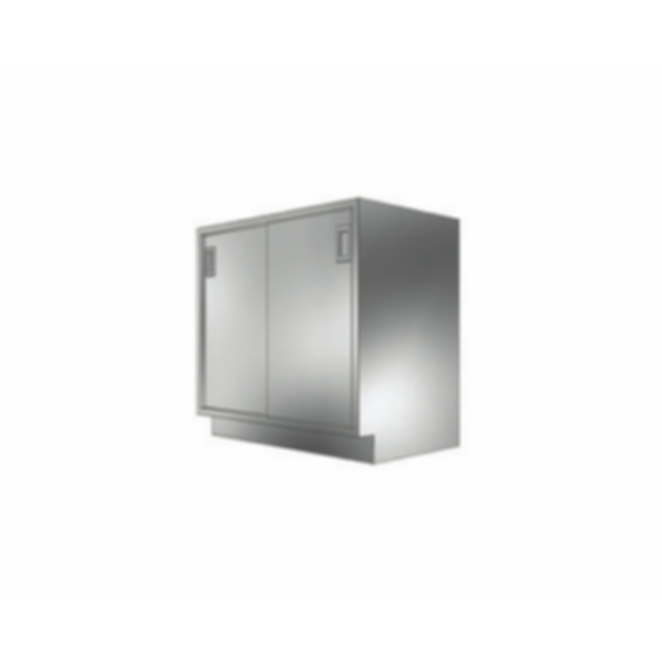 Stainless Cabinetry - Sliding Door Base Unit