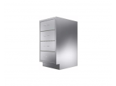 Stainless Cabinetry - Drawer Base Unit - 4 drawers