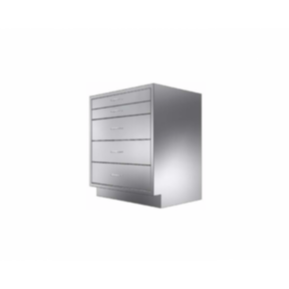 Stainless Cabinetry - Drawer Base Unit - 5 drawers