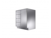 Stainless Cabinetry - Drawer/Door Base Unit - 4 drawers and single door