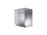 Stainless Cabinetry - Drawer Base Unit - 5 drawers and single door
