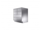 Stainless Cabinetry - Combo Drawer Base Unit - 6 drawers