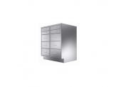 Stainless Cabinetry - Combo Drawer Base Unit - 10 drawers