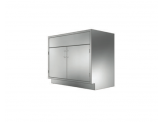 Stainless Cabinetry - Sink Double Door Base Unit