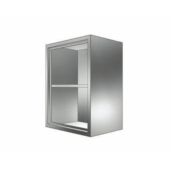 Stainless Cabinetry - Open Front Wall Unit