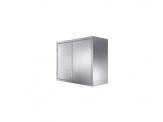 Stainless Cabinetry - Double Hinged Door Wall Unit