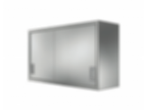 Stainless Cabinetry - Sliding Door Wall Unit