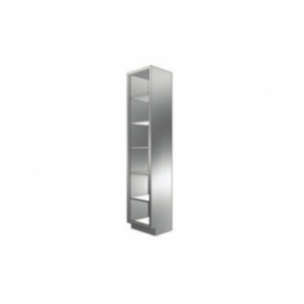 Stainless Cabinetry - Open Front Tall Unit