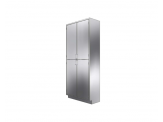 Stainless Cabinetry - Hinged Door Tall Unit - 4 Doors